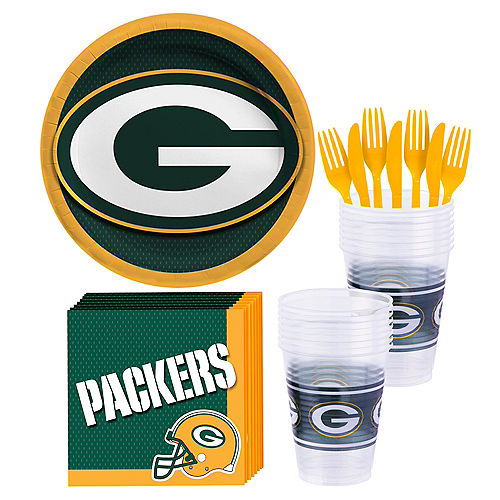 Green Bay Packers Party Kit for 18 Guests Image #1