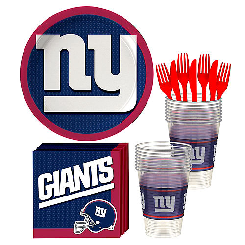 New York Giants Party Kit for 18 Guests Image #1