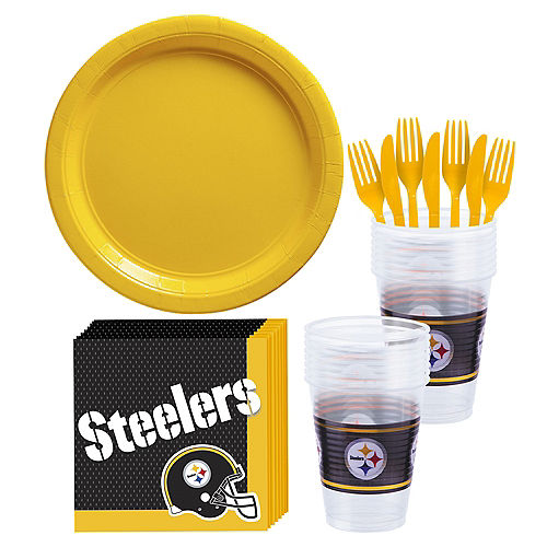 Pittsburgh Steelers Party Kit for 18 Guests Image #1