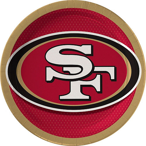 San Francisco 49ers Party Kit for 18 Guests Image #2
