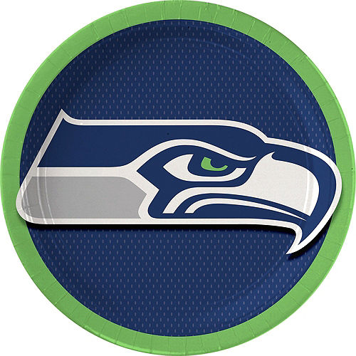 Super Seattle Seahawks Party Kit for 18 Guests Image #2