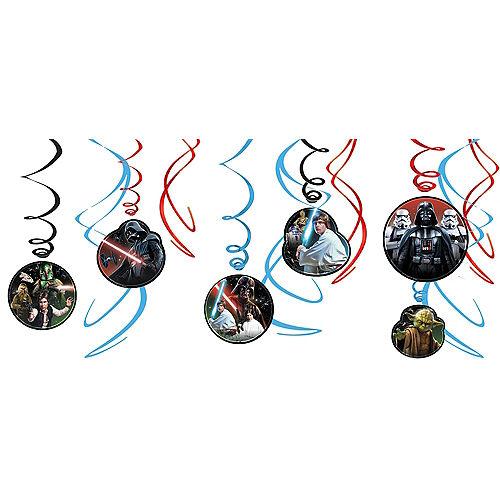 Star Wars Swirl Decorations 12ct Image #1