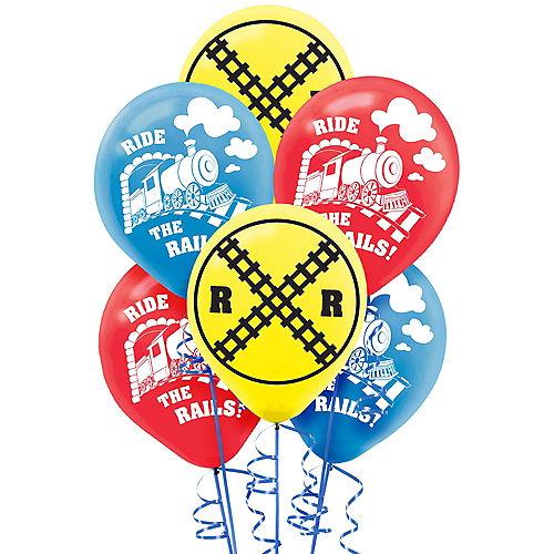 Train Balloons 6ct Image #1