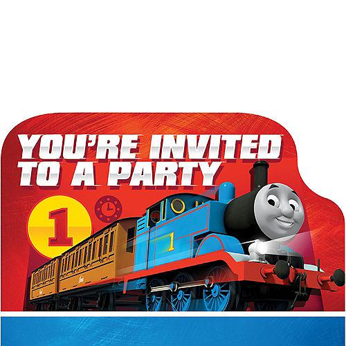 Thomas the Tank Engine Invitations 8ct Image #1