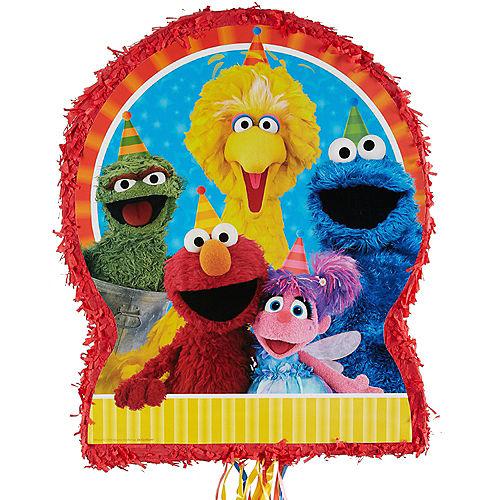 Pull String Sesame Street Pinata Image #1