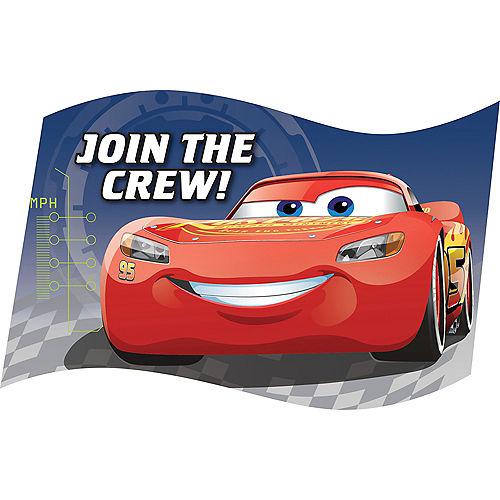 Cars 3 Invitations 8ct Image #1