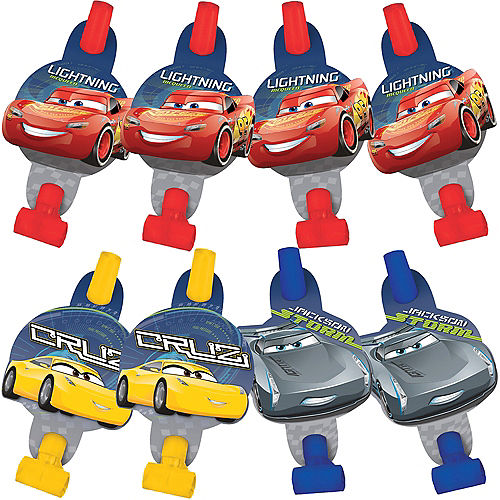 Cars 3 Blowouts 8ct Image #1
