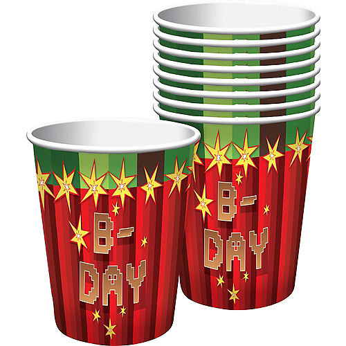 Pixelated Cups 8ct Image #1