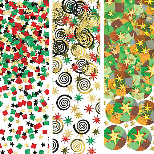 Pixelated Confetti Image #1