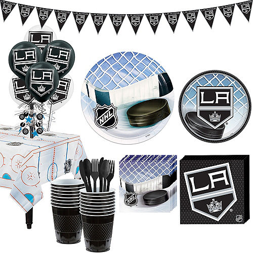 Super Los Angeles Kings Party Kit for 16 Guests Image #1