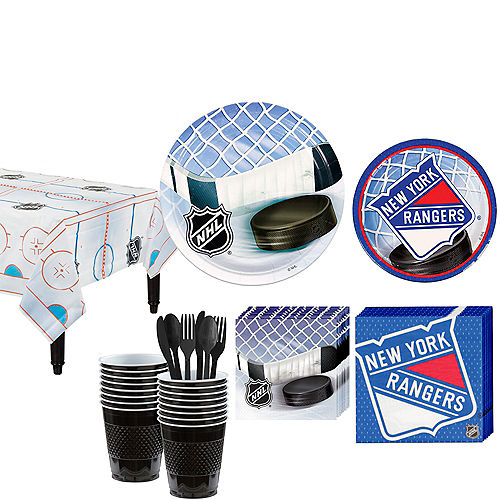 New York Rangers Party Kit for 16 Guests Image #1