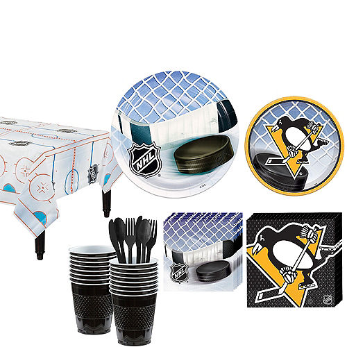 Pittsburgh Penguins Party Kit for 16 Guests Image #1