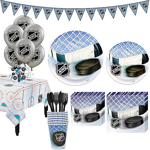 Super NHL Hockey Party Kit for 8 Guests Image #1