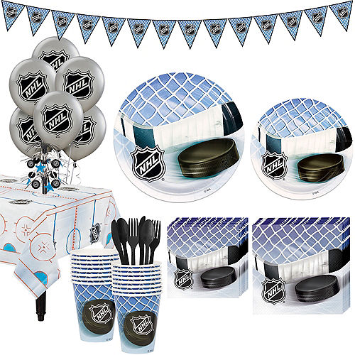 Super NHL Hockey Party Kit for 16 Guests Image #1