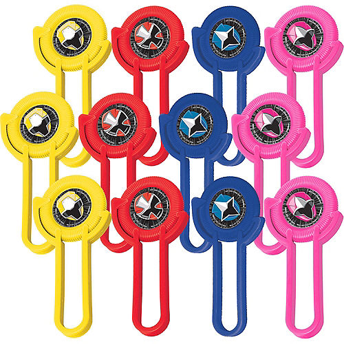 Power Rangers Ninja Steel Disc Shooters 12ct Image #1