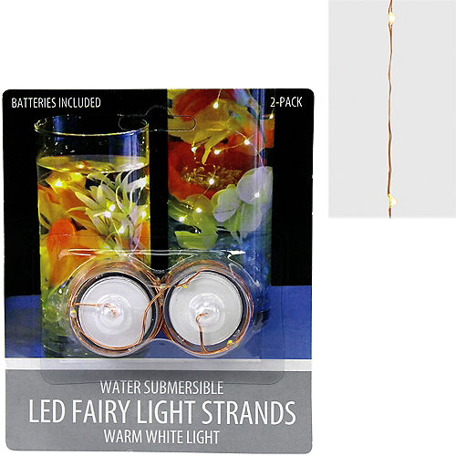 Submersible Wire String Lights 2ct Image #1