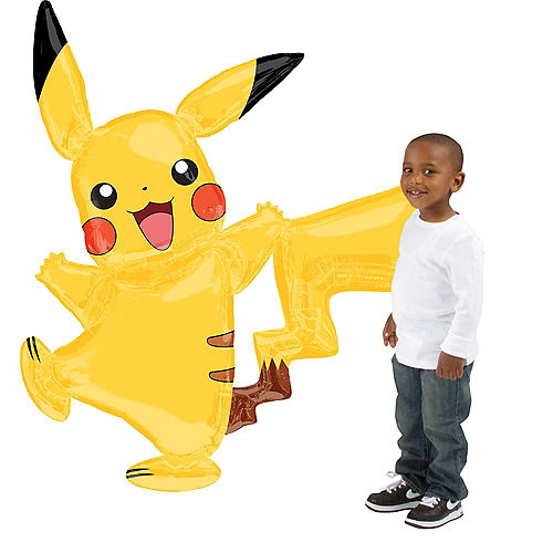 Giant Gliding Pikachu Balloon, 55in Image #1