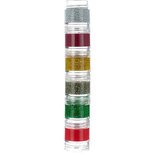 Glitter Green Candy Cane Lip Gloss Set 13ct Image #3
