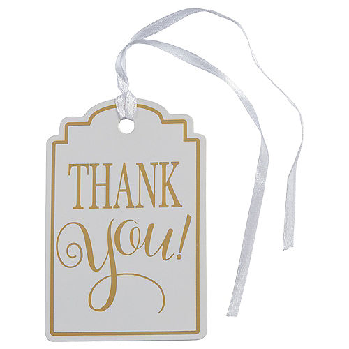 Thank You Gift Tags 25ct Image #1