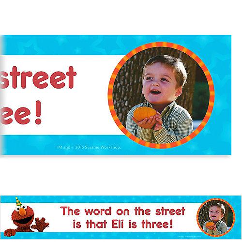 Custom Sesame Street Photo Banner Image #1