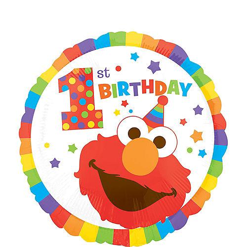 1st Birthday Elmo Balloon Image #1