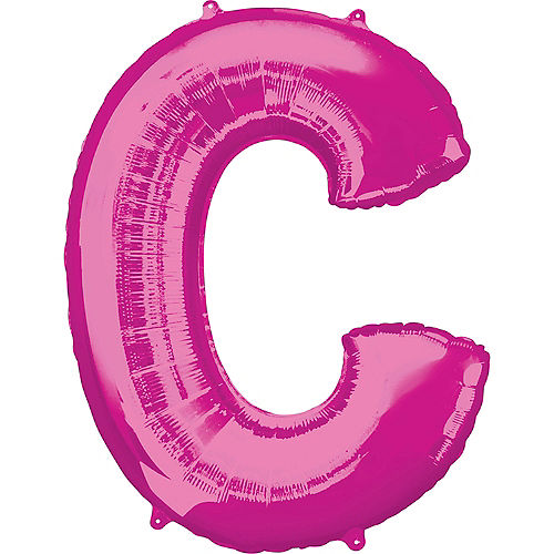 34in Pink Letter Balloon (C) Image #1