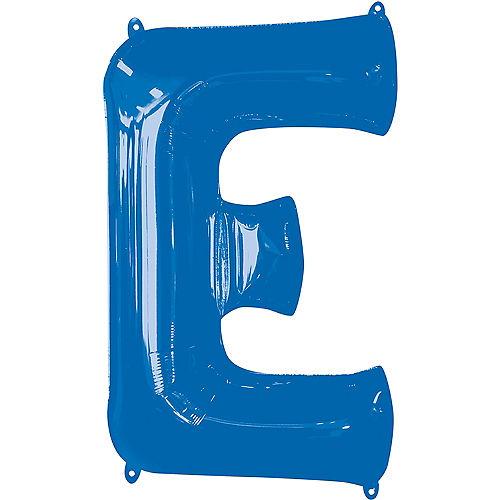 34in Blue Letter Balloon (E) Image #1