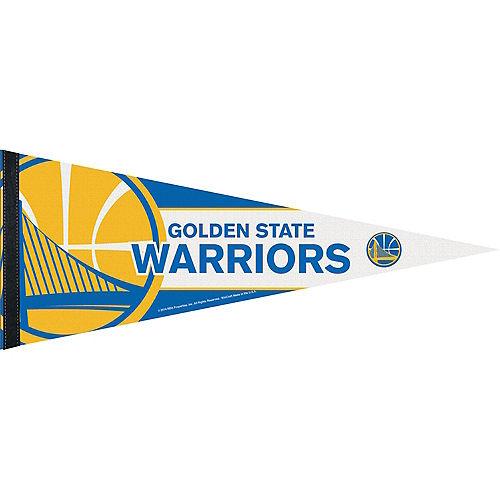Golden State Warriors Pennant Flag Image #1