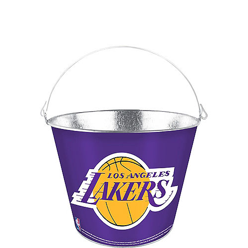 Los Angeles Lakers Galvanized Bucket Image #1