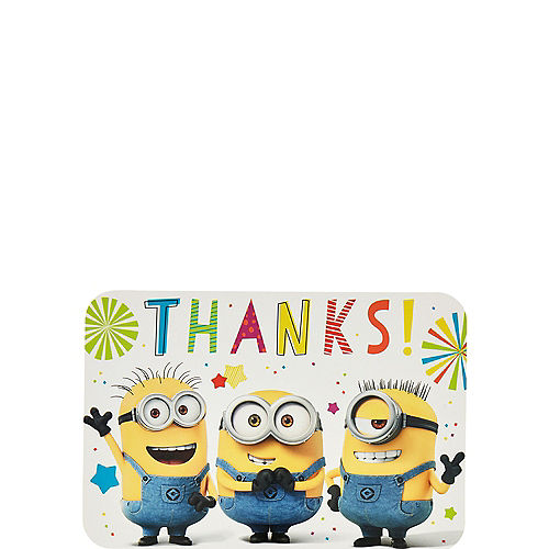 Minions Thank You Notes 8ct Image #1