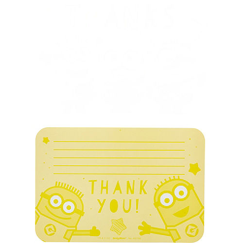 Minions Thank You Notes 8ct Image #2