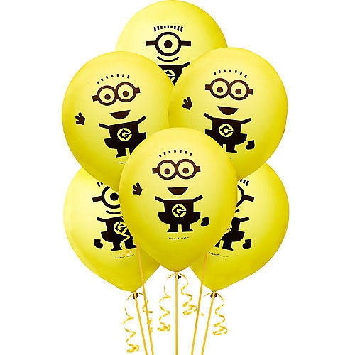 Nav Item for Minions Balloons 6ct Image #1
