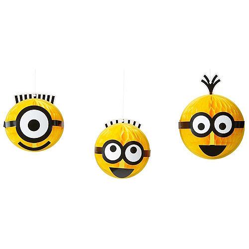 Despicable Me Honeycomb Balls 3ct Image #1