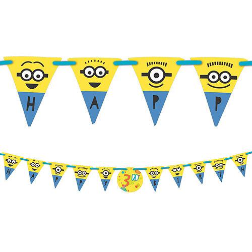 Minions Birthday Banner Kit Image #1