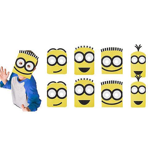 Minions Masks 8ct Image #1