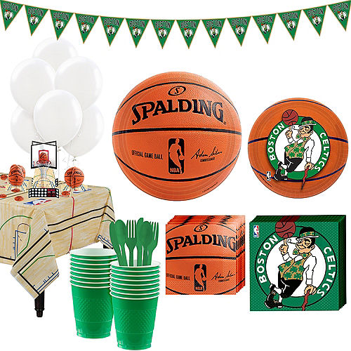 Super Boston Celtics Party Kit 16 Guests Image #1
