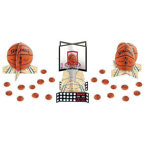 Super Chicago Bulls Party Kit 16 Guests Image #11