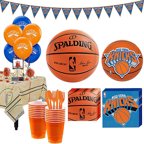 Super New York Knicks Party Kit 16 Guests Image #1