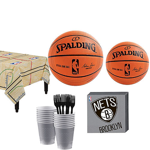 Brooklyn Nets Party Kit 16 Guests Image #1