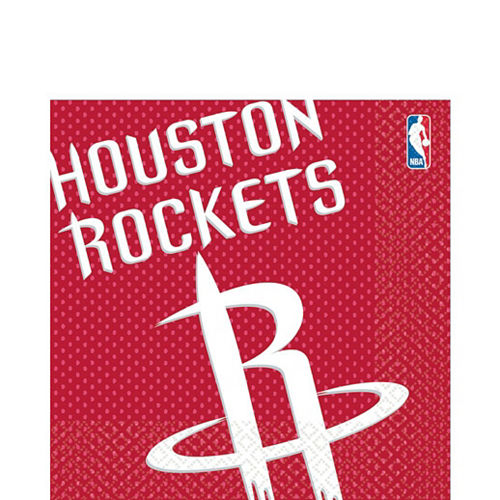 Houston Rockets Party Kit 16 Guests Image #4