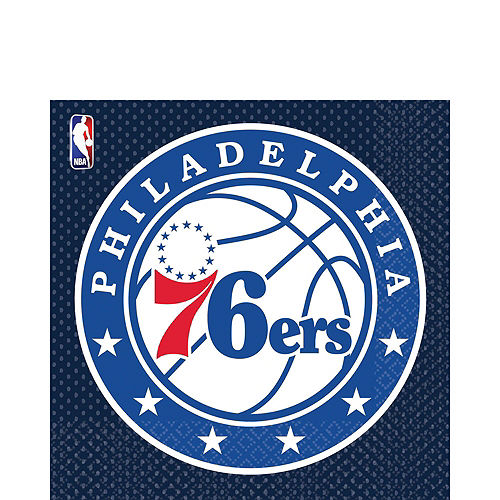Philadelphia 76ers Party Kit 16 Guests Image #4