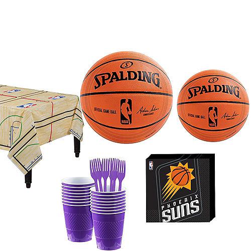 Phoenix Suns Party Kit 16 Guests Image #1