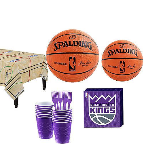 Sacramento Kings Party Kit 16 Guests Image #1