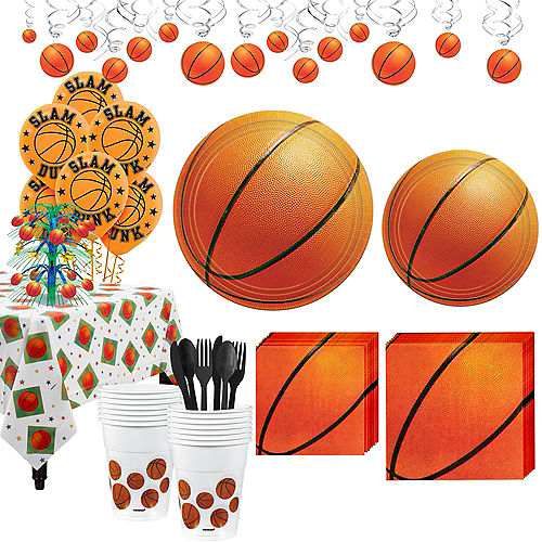 Super Basketball Party Kit 16 Guests Image #1