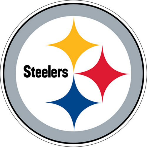 Pittsburgh Steelers Cling Decal Image #1