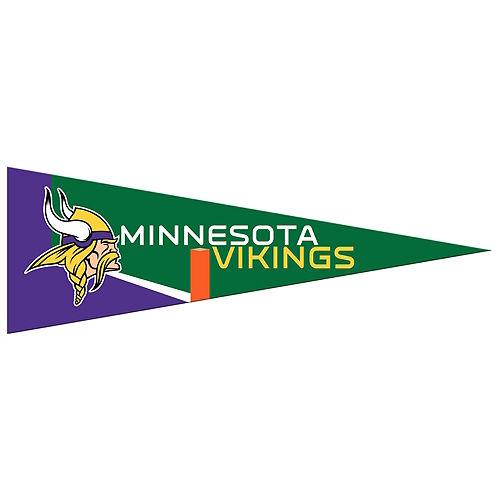 Small Minnesota Vikings Pennant Flag Image #1