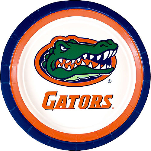 Florida Gators Lunch Plates 10ct Image #1
