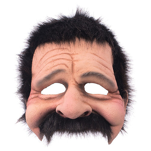 Adult Uncle Bobby Mask Image #1