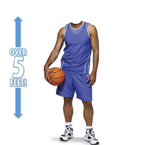 Basketball Player Life-Size Photo Cardboard Cutout Image #1