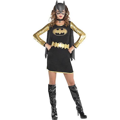 Adult Batgirl Long-Sleeve Dress - Batman Image #1